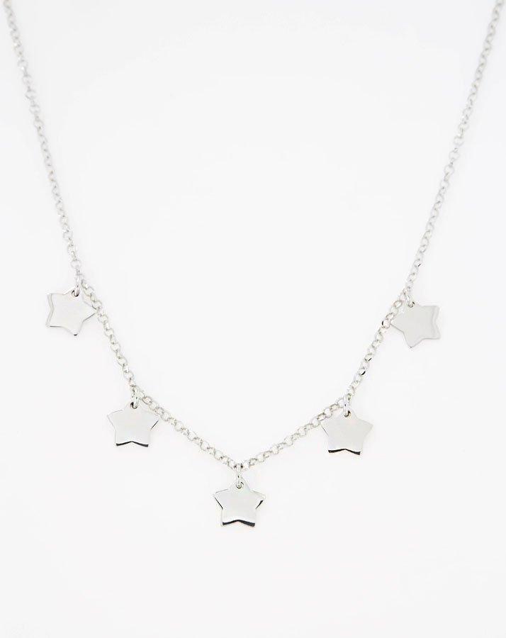 prezzo competitivo 23489 e278d Collana argento 925 stelline pendenti | Deana Bijoux